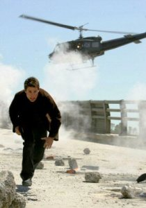 Faster than a speeding bullet coming from an Chopper, he's Ethan Hunt dammit.