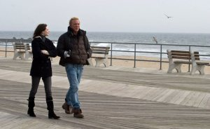 Nothing says family-daughter bonding more than aimless walks on a deserted New Jersey Boardwalk.
