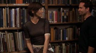 This scene will make you want to go to the library. Yes, it's that awesome.