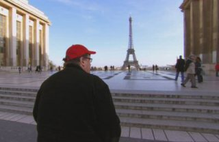 Next film, Michael Moore will be taking over Paris. And eating all of their sweets.