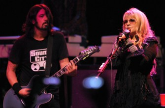 Stevie Nicks may be crazy, but if Dave likes her, she's gotta be alright, right?
