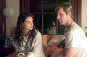 It's a reunion of Harvey Dent and Rachel Dawes. Well, sort of.