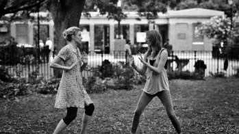 Slap-boxing in the park, how those used to be the days.