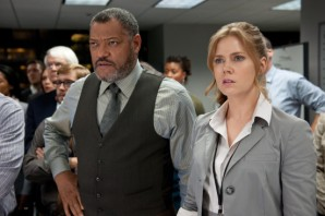 """Perry White"", get it? Laurence Fishburne is playing a character named, ""Perry WHITE""."