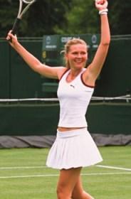 """""""Love rules! So does tennis! Woo-hoo!"""""""