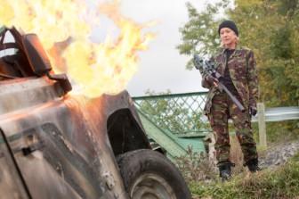 Fire. Machine Gun. Helen Mirren. I need a new pair of shorts.