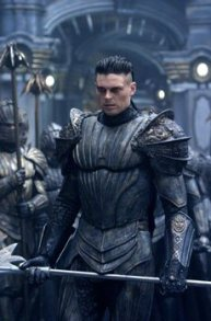 Karl Urban, in what seemed to be his 20th role in a bland, big-budget sci-fi flick that only 10 or so people would bother to see.