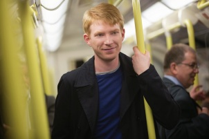 "Usually, the creepy ginger kid on the subway doesn't get the girl, but that's why it's called the ""fantasy genre"", eh?"