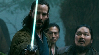 "You can trust Keanu to save the day. He knows ""The Way of the Blade"". Or something like that. I don't know!"