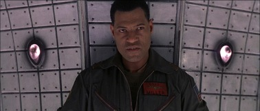 """I guess the """"hard-as-nails, take-no-crap black lieutenant cliche"""" could work for a movie that takes in space."""
