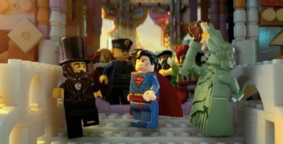 "Even cooler! I mean, how in how many lifetimes are you going to be able to say that you not only saw ""Abe Lincoln and Superman together at the same time next to one another"", but also with ""The Statue of Liberty right next to them""?!?! Like, super rad!!"