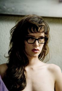 There Paz de la Huerta goes again with no clothes on!