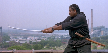 Beautiful New York: Where African-American samurais run free on roof-tops.
