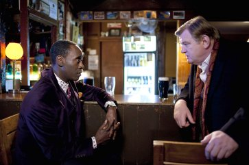 A black guy and an Irish dude walk into a bar, and they drink. That's it.