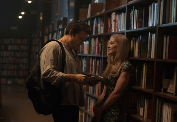 Picking up girls in a library. So Affleck.