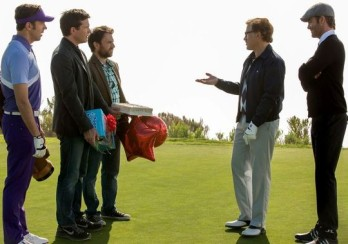 Business meeting while golfing? Yup, total dick move.