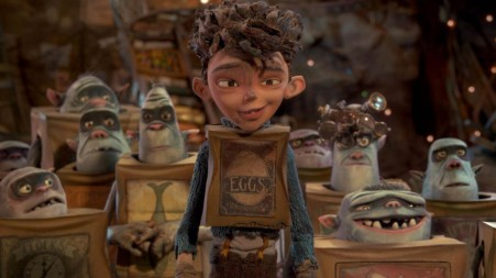 Of course the leader of these Boxtrolls had to be white!