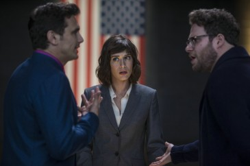 If every CIA member looked like Lizzy Caplan, I'd be looking for applications automatically.