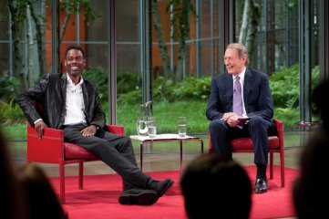 If Charlie Rose thinks you're funny, then hell, you must be!