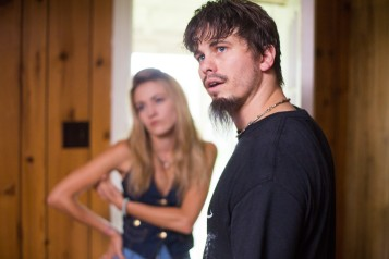 "Sorry, Jason Ritter. You're too good-looking to pull off ""metal bro""."