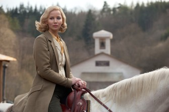 Somehow, female J-Law on a white horse isn't as awesome as it sounds.
