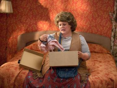 Funny costumes + Melissa McCarthy = sure, it's funny.