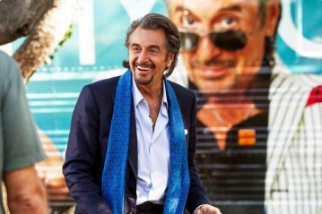 Just imagine Rod Stewart, as portrayed by Al Pacino and there you have him: Danny Collins.