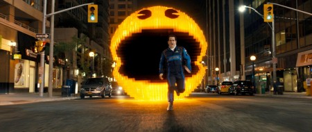 Just imagine Pac Man as the general public and this scene's a whole lot funnier.