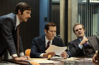 Come on, David Harbour and Kevin Bacon: If you're an FBI agent in the 1970's, you've got to have a sweet-ass 'stache!