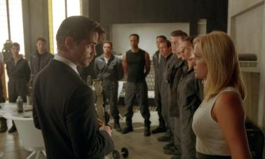 If Colin Farrell takes over your command, you know you're in some deep trouble.
