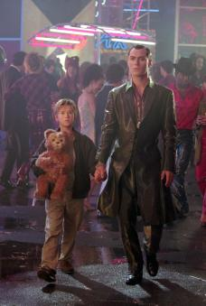 A robot, a teddy bear, and a male gigolo walk into a bar...
