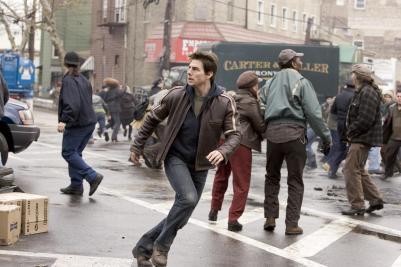 Tom Cruise running.