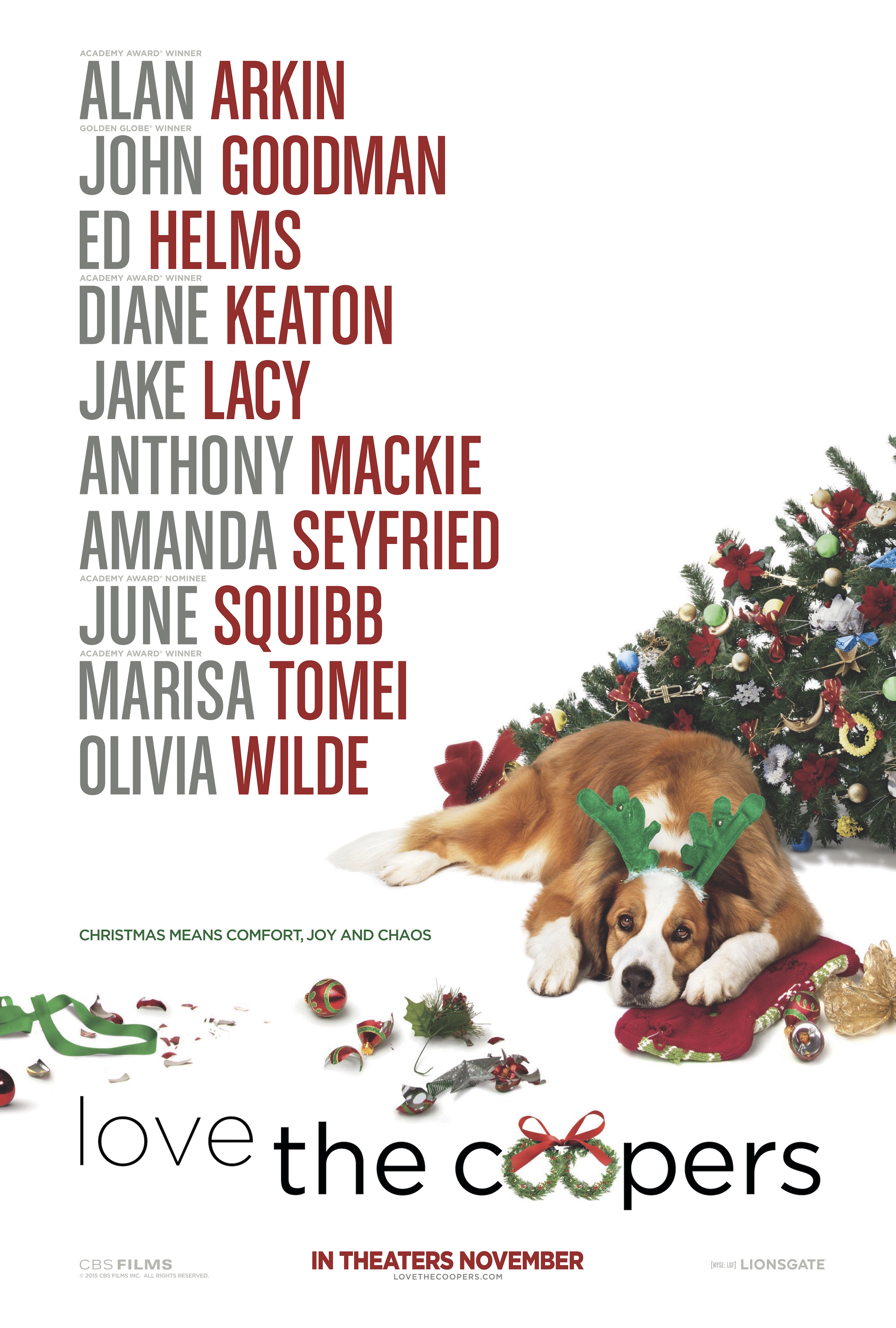 Love the Coopers (2015) – Dan the Man\'s Movie Reviews