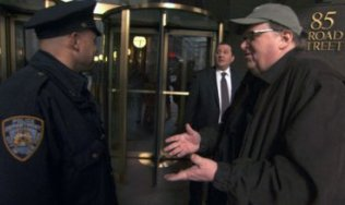 Who wouldn't want Michael Moore into their building?
