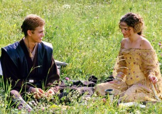 Anakin and Padme? Eck! More light-sabers!