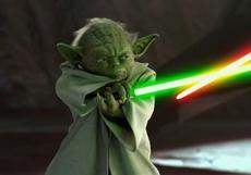 Yoda's still bad-ass, but we get it! You talk backwards, bro!