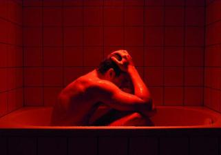 Bath-tubs are supposed to relaxing and chill. but apparently not in a Gaspar Noé movie!