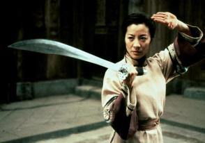 I wouldn't want to mess with Michelle Yeoh as is. But with her wielding a blade? Forget about it!