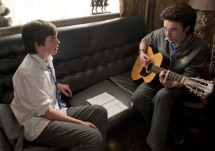 That's how the magic starts. Two dudes, a guitar and some cheesy lyrics about love and heartbreak.