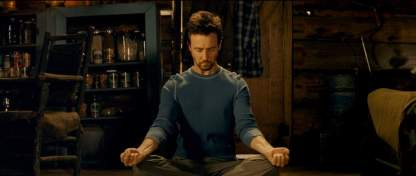 How Edward Norton prepares for a role. Any role.