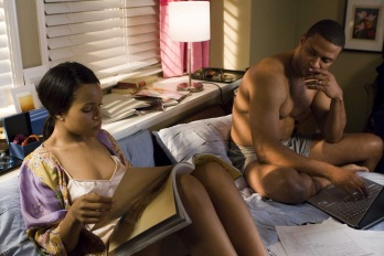 If Kerry Washington was laying next to me in bed, I'd be a little surprised too.