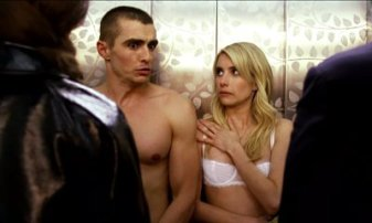 Oh man. What a shame it would be to have to walk around, half-naked, with the bodies of Dave Franco and Emma Roberts. Jeez. Could. Not. Imagine.