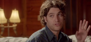Longed-hair Adam Pally? I don't know!