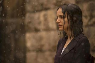 So sad and drenched. Yet, she's Natalie Portman so of course she's still beautiful.