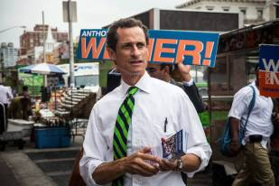 There's no E-I-N in Weiner. No, literally.