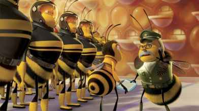 """Get back in, ya bee! Get it? Cause we're all bees when you think about it, bro!"""